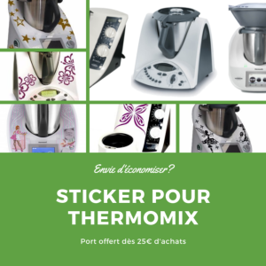 Stickers Thermomix pas cher chez aspi-boutique